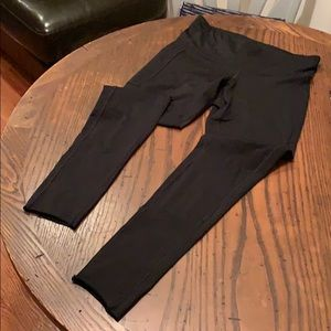 Champion Black Leggings with Side Pockets